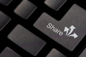 Share button on keyboard